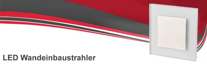led wandeinbaustrahler 230v unterputzmontage conceptrun onlineshop f r led leuchten. Black Bedroom Furniture Sets. Home Design Ideas