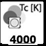 ca. 4000 Kelvin