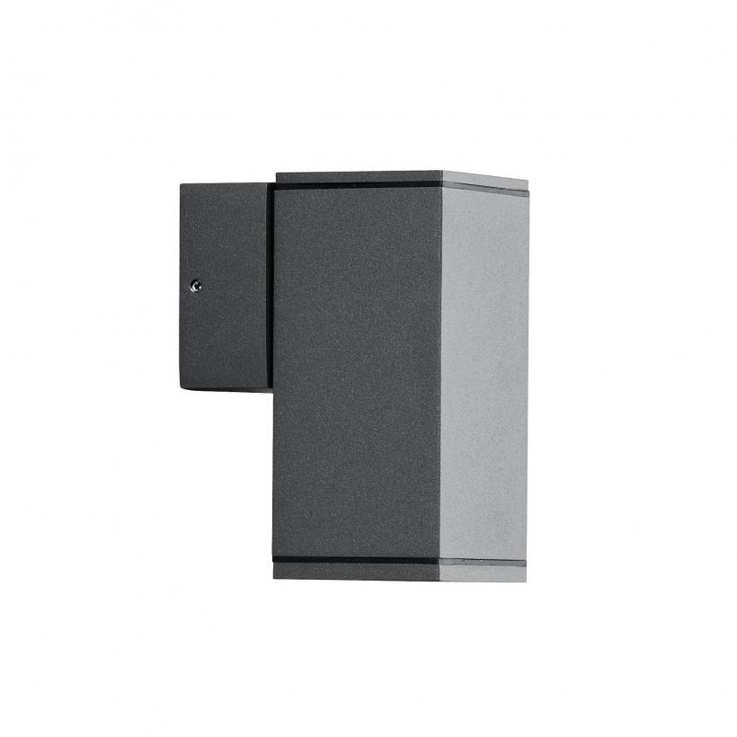 led wandleuchte dom au enleuchte 1 flammig aluminium. Black Bedroom Furniture Sets. Home Design Ideas
