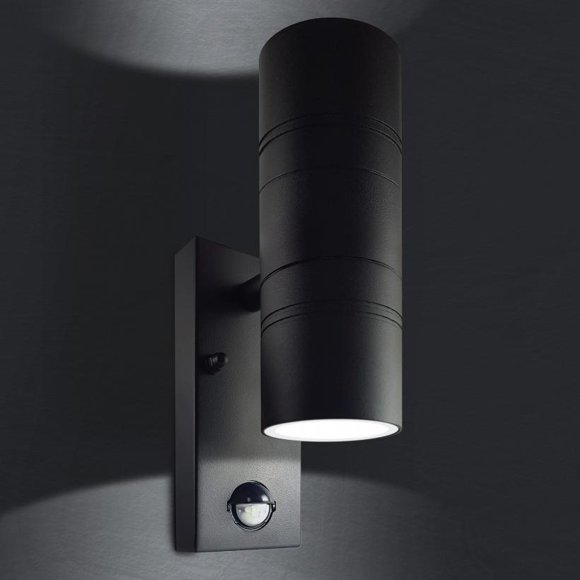 Fabulous LED Wandleuchte mit Bewegungsmelder und Dämmerungssensor UK61