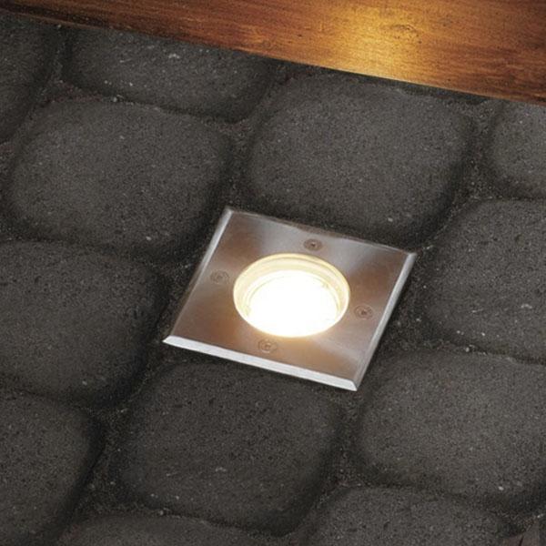 led bodeneinbaustrahler edelstahl au enleuchte ip67 gu10. Black Bedroom Furniture Sets. Home Design Ideas
