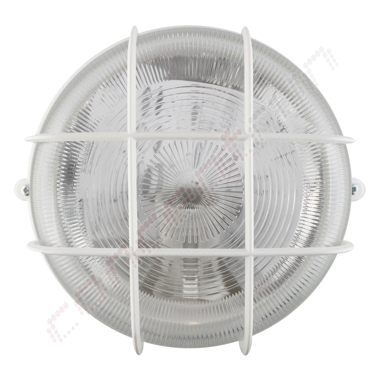 LED Wandleuchte Deckenleuchte Außenleuchte Keller Oval Rund Schiffsarmatur 230V